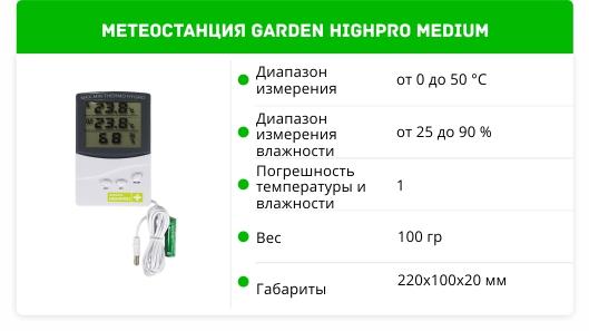 Garden Highpro Medium