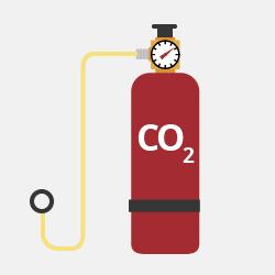 Сжатый углекислый газ