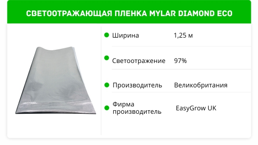 Mylar Diamond ECO