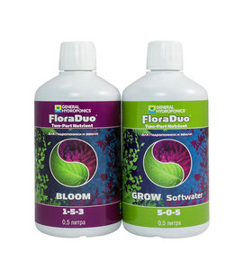 Flora Duo Grow SW + Flora Duo Bloom 2x500 мл