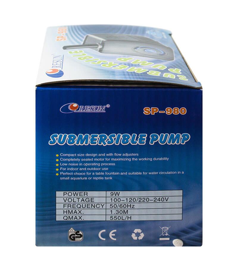 Погружная помпа SP-980 - купить в городе по цене 668 руб